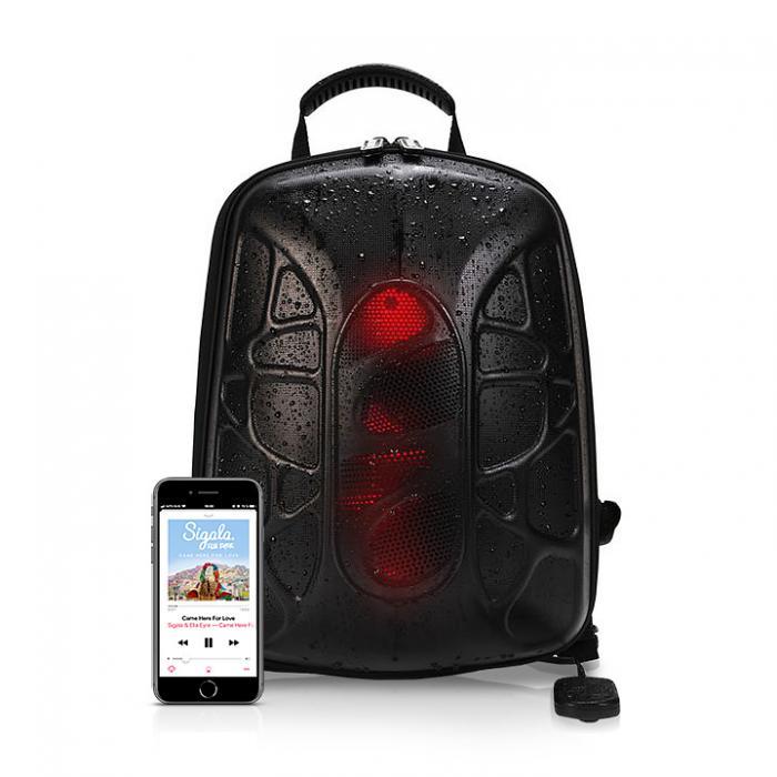 Рюкзак с громкими динамиками для прослушивания музыки рюкзак для транспортировки оружия
